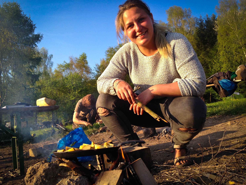 Kochen Lagerfeuer