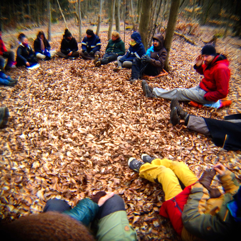 Wildnispaedagogik Lernen im Kreis