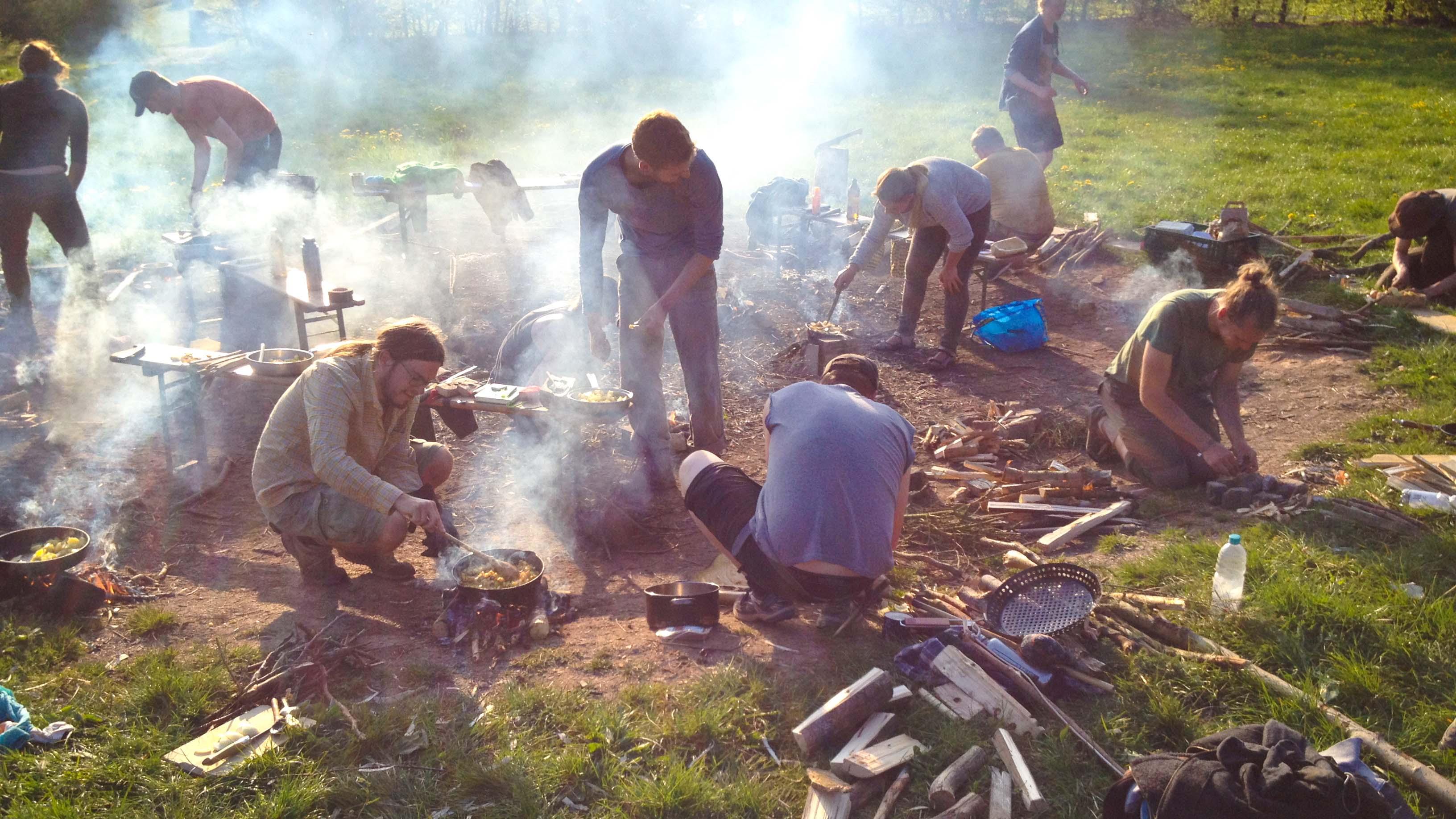 Wildnispaedagogik Weiterbildung Wildnisschule Weltenwandler