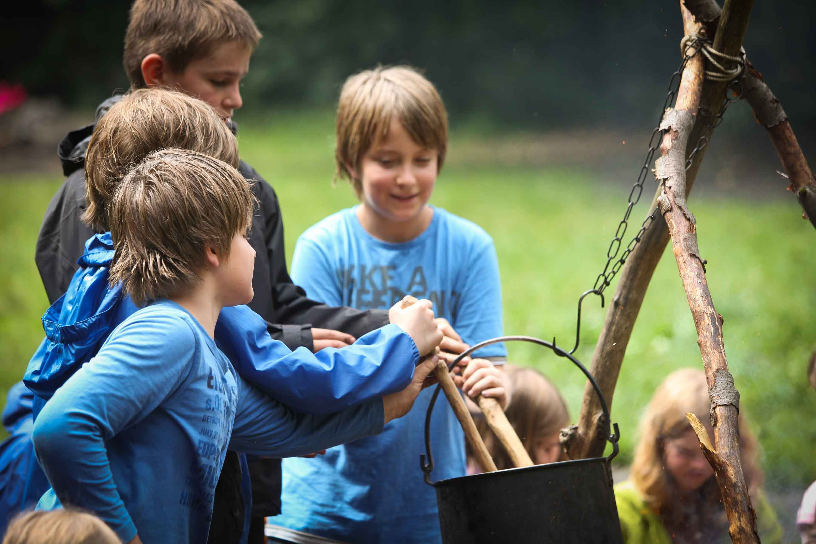 Survival Kurs für Kinder
