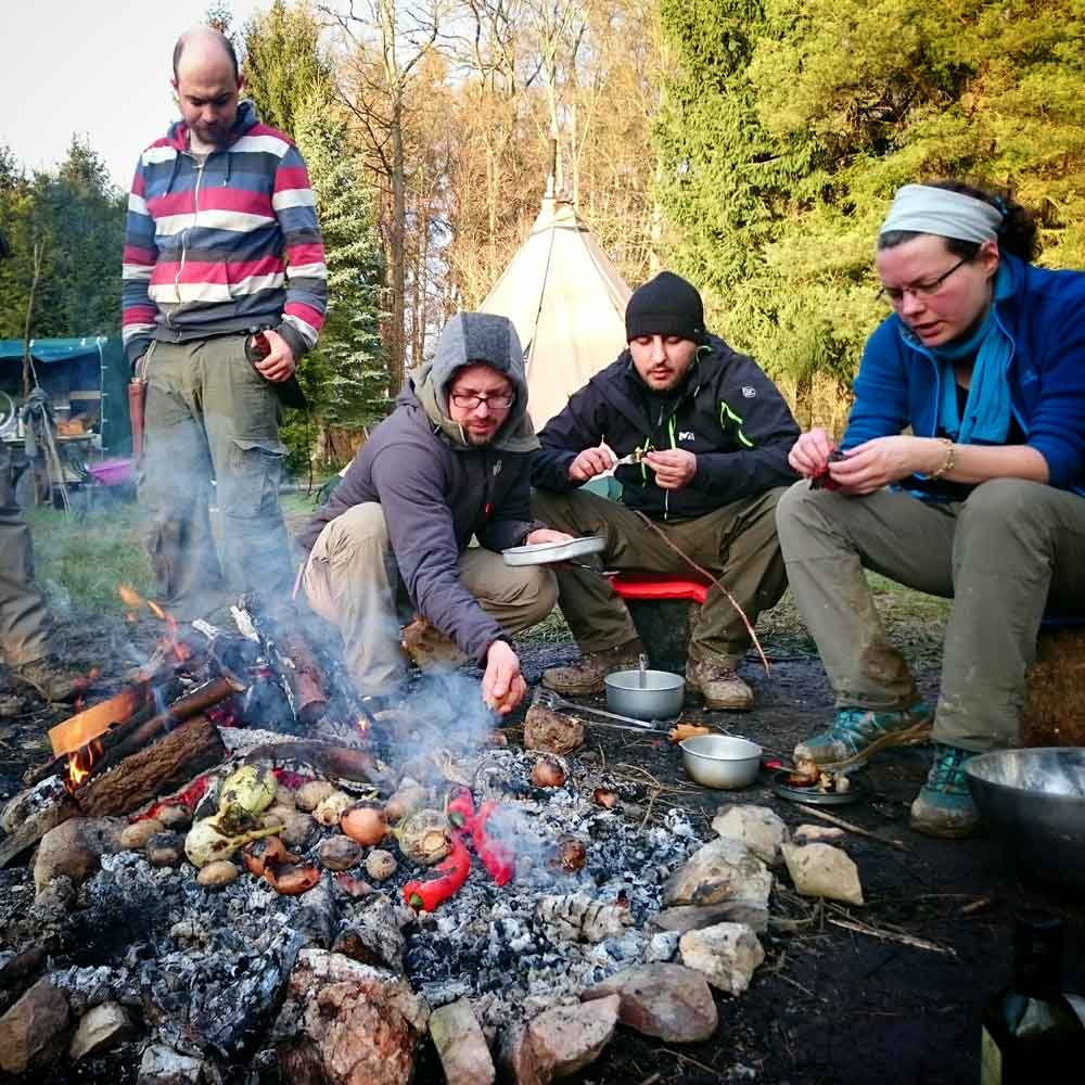 Outdoor Kochen Kurs