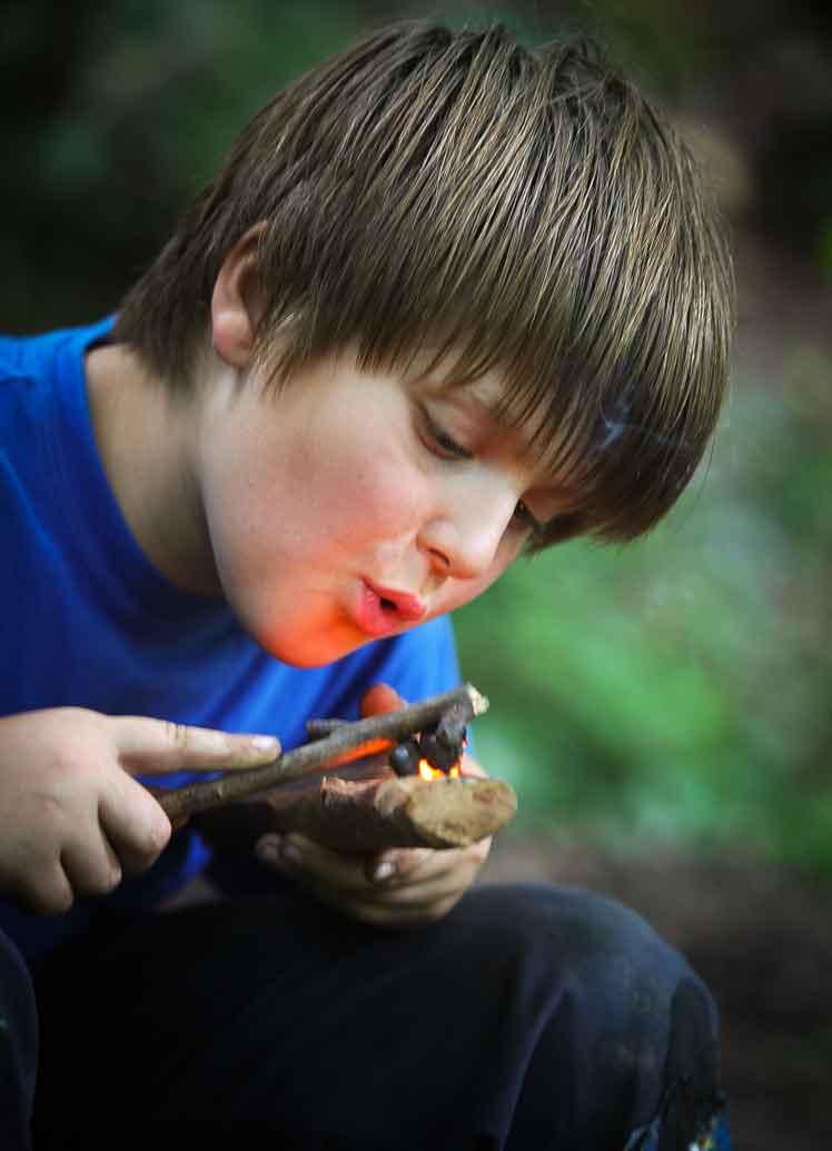 Survival für Kinder - Wildnis Kindergeburtstag - Outdoorerlebnis