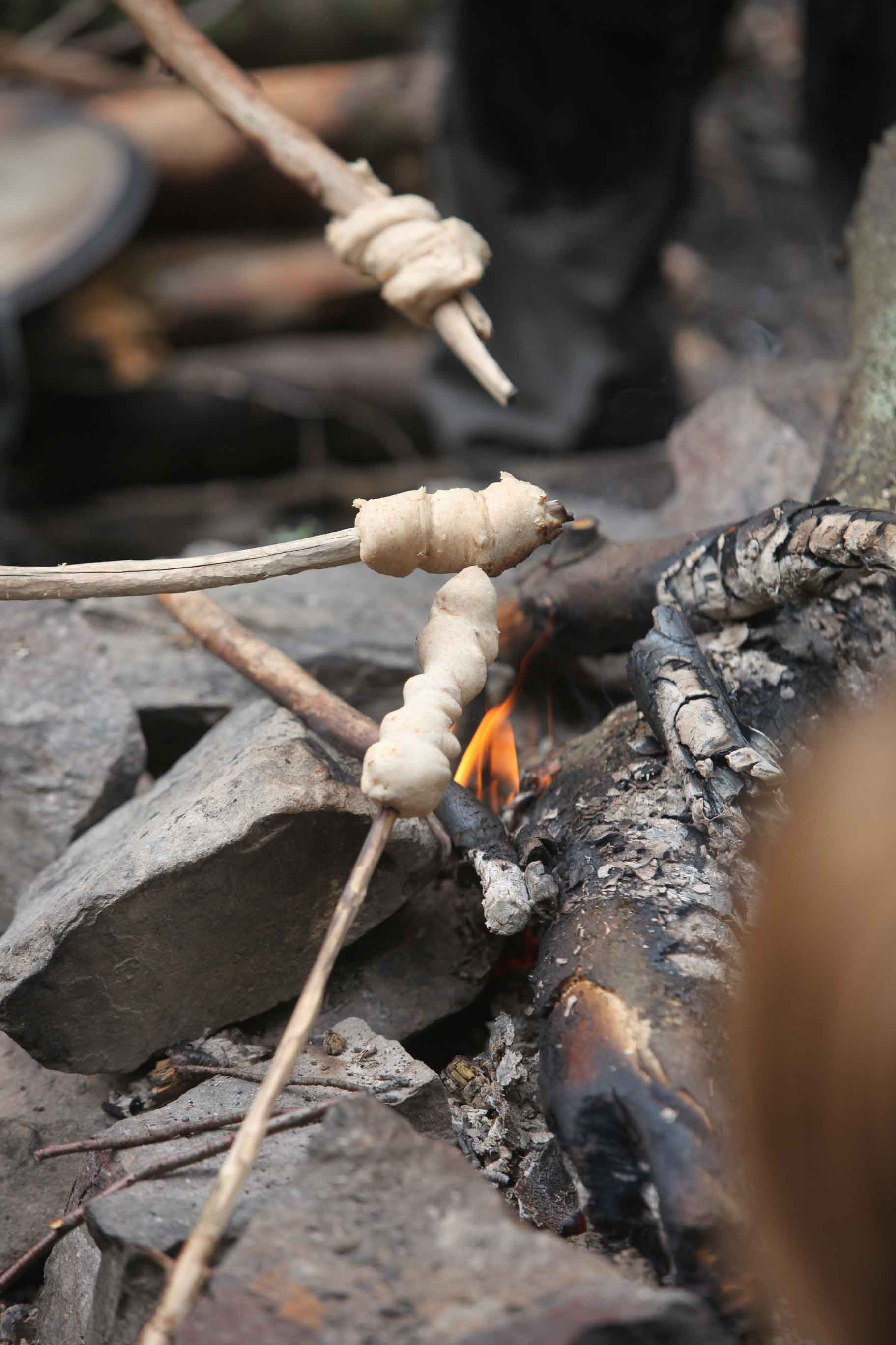 Survival fuer Kinder Lagerfeuer