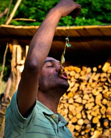 Wildnispaedagogik Weiterbildung Wilde Kueche Lagerfeuerkochen