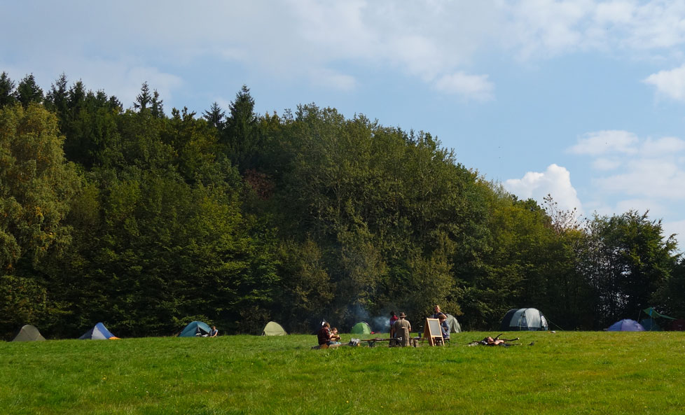 Familiencamp Wildnis