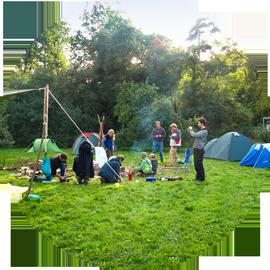 Survival Camp für Familien