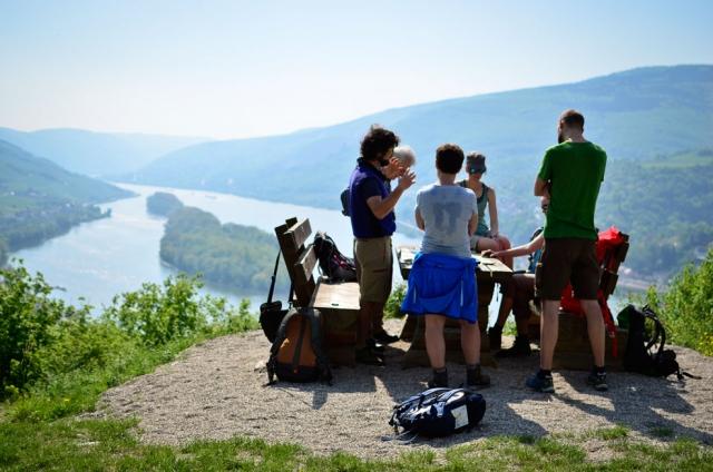 Kurs Orientieren Karte Kompass Rheintal