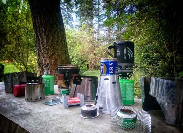 Outdoor Trekking Guide Ausbildung Outdoorkocher Draußen kochen