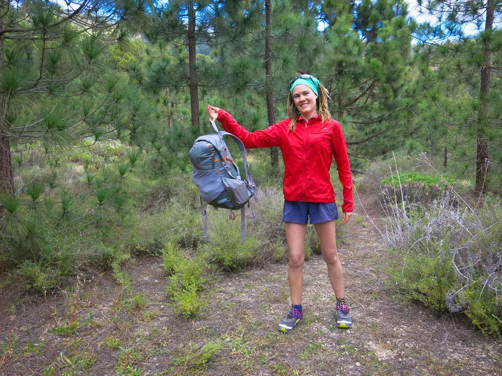 Ultraleicht Trekking Wandern mit leichtem Gepaeck