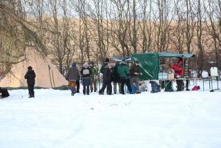 Wildnispaedagogik Weiterbildung Wintercamp Wildnisschule Weltenwandler