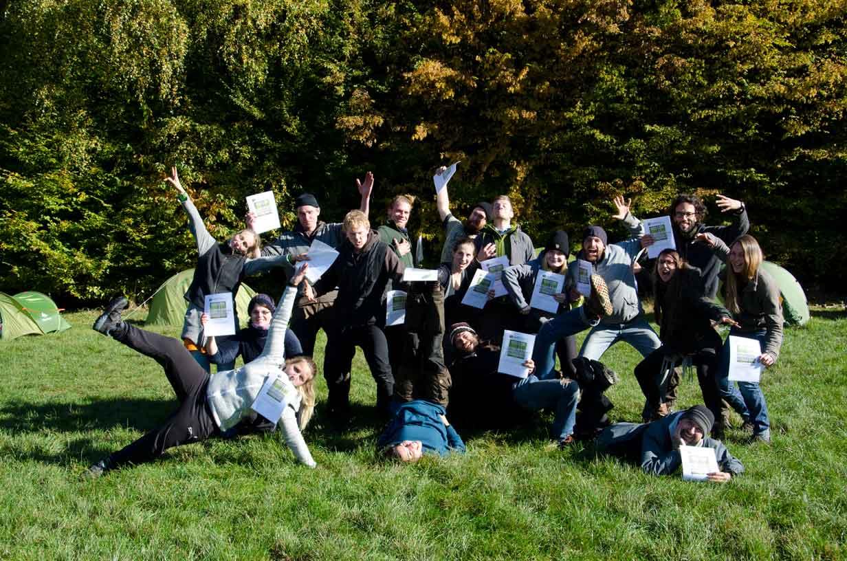 Zertifizierte Wildnispaedagogik Ausbildung Wildnisschule Weltenwandler