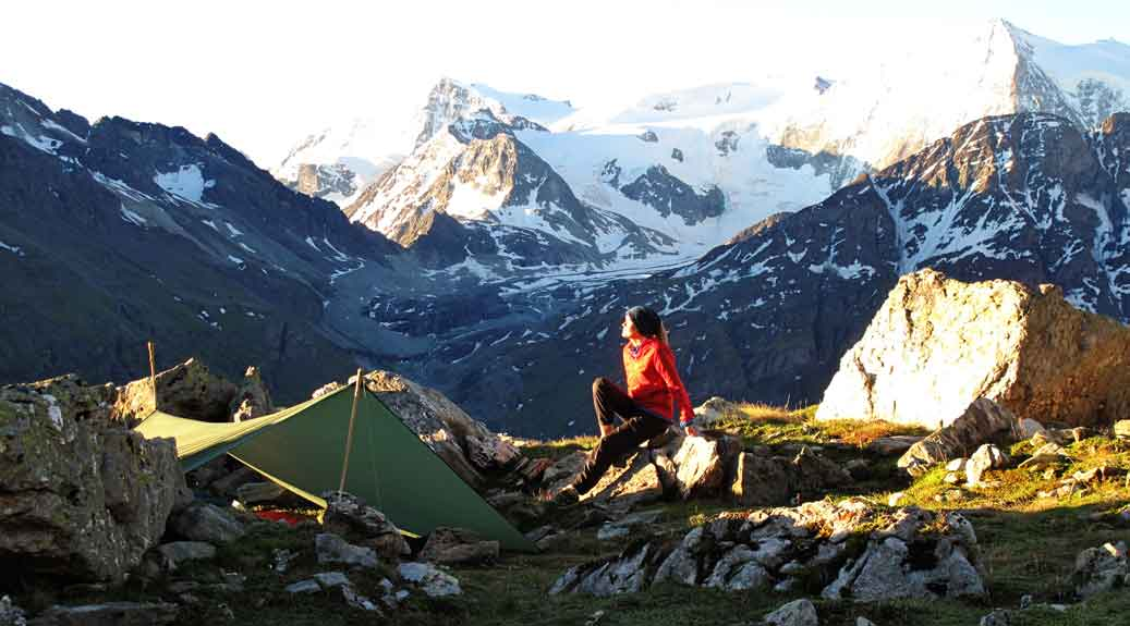 Trekking Guide Ausbildung Biwakieren in den Bergen