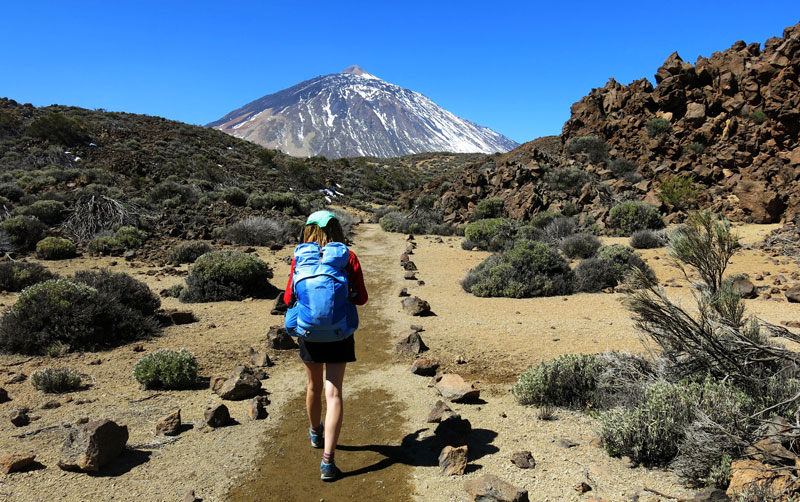Outdoor Trekking Guide Ausbildung Wandern in der Wueste