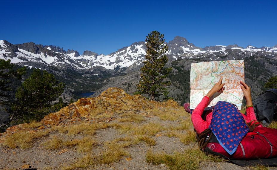 Trekking Guide Ausbildung Orientierung mit Karte und Kompass