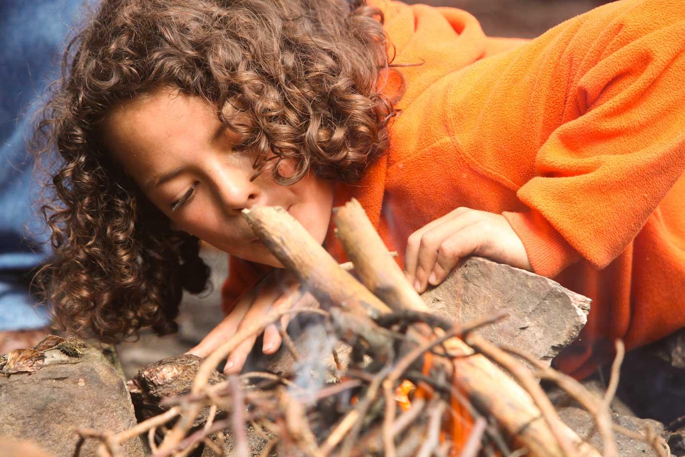 Survival Geburtstag im Wald feiern