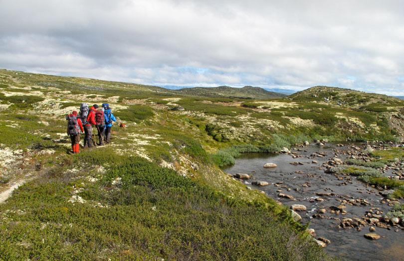 Outdoor Guide Weiterbildung Wandern in Skandinavien