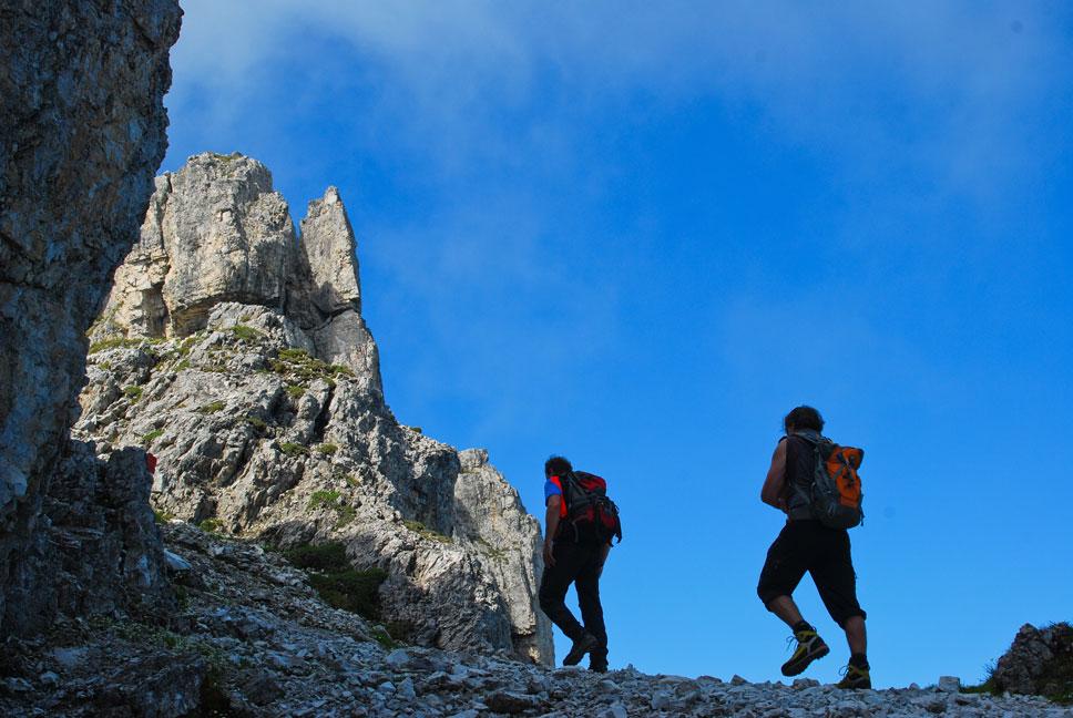 Outdoor Trekking Guide Ausbildung Bergtouren