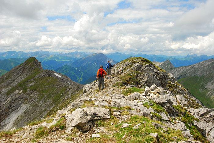 Outdoor Trekking Guide Ausbildung Bergwandern