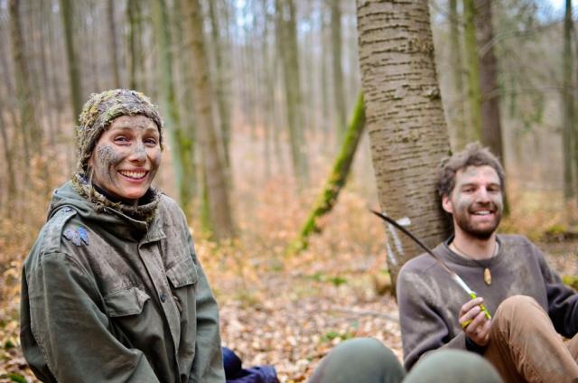 Survivalkurs fuer Kinder Wildnisschule Weltenwandler