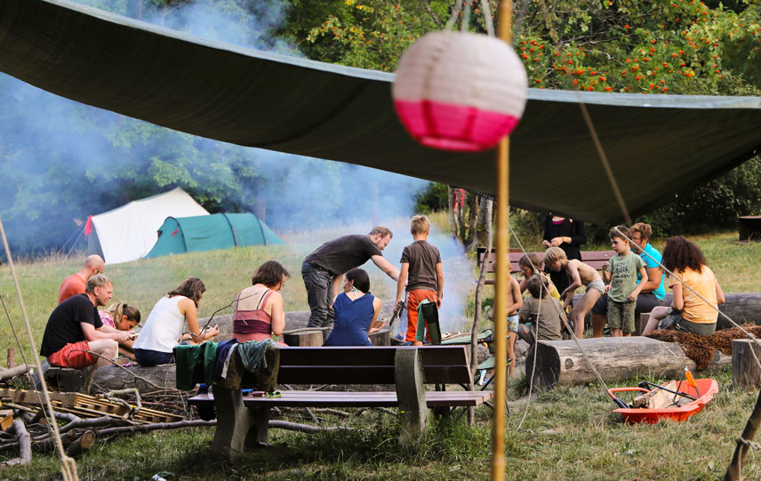 Eltern Kind Wildnis Wochenende Wildnisschule Weltenwandler