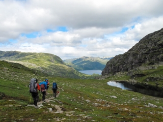 Trekking Guide Ausbildung Wandern in Skandinavien