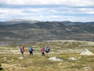 Outdoor Guide Ausbildung Wandern im Fjäll
